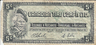 Canada Canadian Tire Store 1961 5 Cents B0169