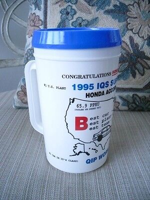 NEW HONDA ACCORD EMPLOYEE Insulated Mug Cup  Super Thermo 22 Oz with Lid