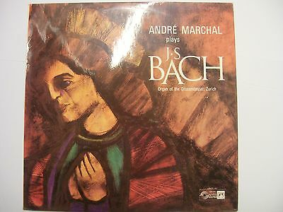 ANDRE MARCHAL Plays J.S. Bach (Grossmünster, Zurich) – 1967 UK LP – Classical