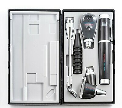 Sigma Lance Vision Series Ophthalmoscope and Otoscope Premium Set, Medical, ENT