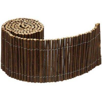Garden Willow Fencing Fence Screening H15cm x L6ft Decoration