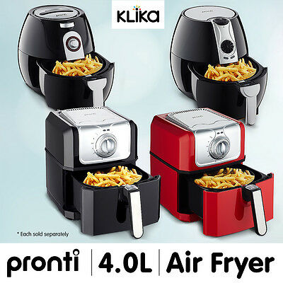 Pronti 3.5L Deep Air Fryer Kitchen Healthy Rapid Cooker Low Fat Oil Free - 1500W