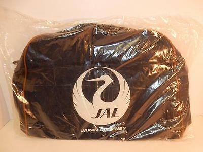 Vintage Jal Japan Airlines Airline Carry On Travel Bag Stewardess Sealed Nos