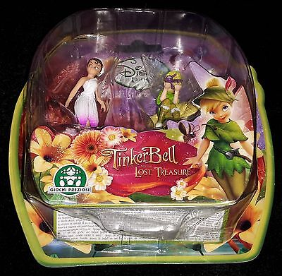 New Disney Tinkerbell Tinker Bell and the Lost Treasure Beck Mini Fairy Figures
