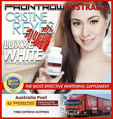 Luxxe White Enhanced Glutathione ,Express Post , Direct From FRONTROW