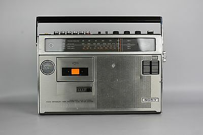 Sony CF-470S Stereo Tape Cassette Player,  AM/FM Radio Tuner, Boombox