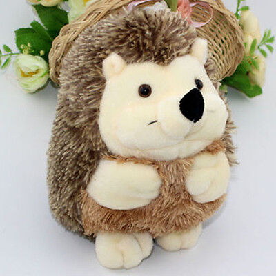 New Cute 7in Plush Hedgehog Stuffed Animal Toy Soft For Kids