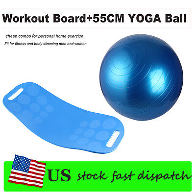 US! Workout Board Balance Board Sport Gym HIP Fitness Trainer Exercise Turnboard