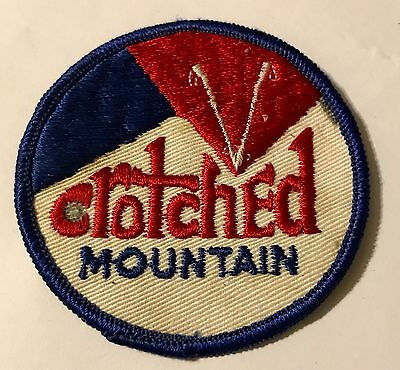 CROTCHED MOUNTAIN Skiing Ski Patch NEW HAMPSHIRE NH Resort Souvenir Travel