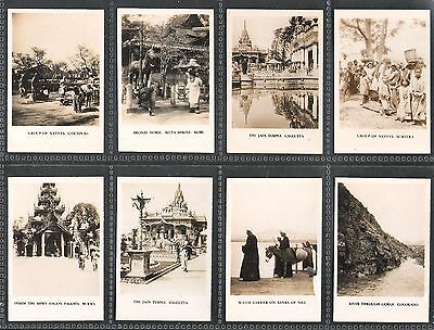 1928,cavanders Ltd,peeps Into Many Lands-Second Series,set Of 36 Cards-Left