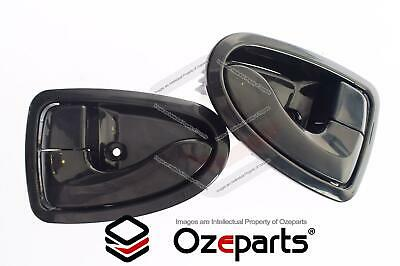 Hyundai Accent 2000~2006 FRONT or REAR Pair LH+RH Inner Door Handle Black