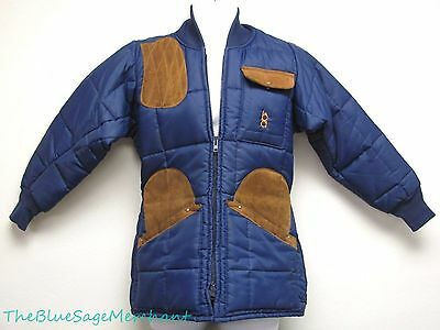 "Bob Allen Quilted Clay Shooting Coat Size 40"" Uk Medium"