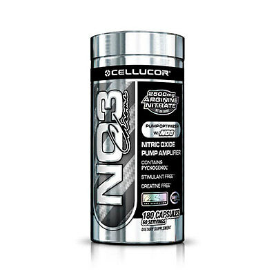 Cellucor NO3 Black Chrome (180) Standard 180g Dose, 19,75 EUR/100g