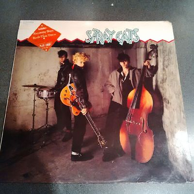 Stray Cats - S/T Self Titled Debut. LP ALbum Vinyl **RARE**