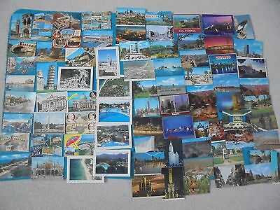 Massive Vintage Italy, U.s.a & Canada Postcards Lot Collection Old & Rare!