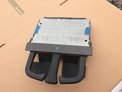 2002 VW GOLF MK4 DASH MOUNTED CUP HOLDER dark wood front later style
