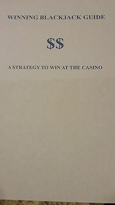 Winning at BlackJack Guide - A strategy to win at the Casino playing cards