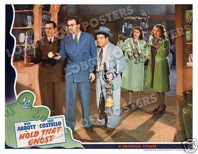 Hold That Ghost  Lobby Scene Card # 2 Poster 1941 Abbott And Costello