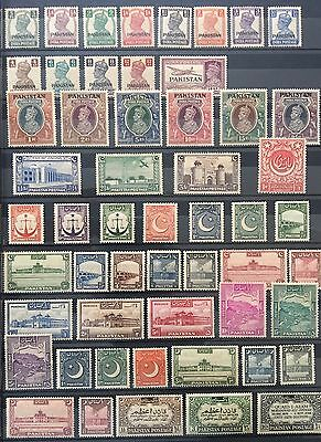 Pakistan 1947 To 2013 Complete Collection Umm Excellent Condition!