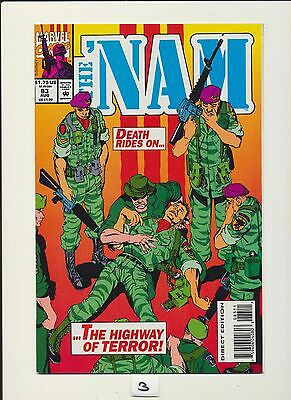 The 'nam #83! Marvel Comics 1993! See Scans! Key Book! Wow! Rare! Low Print!