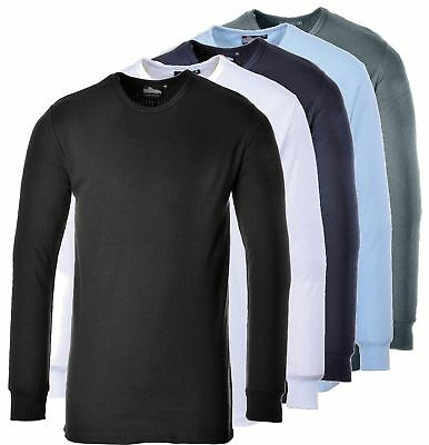 Portwest B123 thermal long sleeve t-shirt all colours size XS-5XL