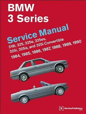 Bentley BMW 3 SERIES E30 COUPE CABRIOLET Owners Service Repair Handbook Manual