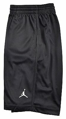Nike Boys Dri-Fit Jordan Basketball Shorts, Dark Grey & Black  951532 L  XL