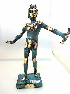 Ancient Greek Bronze Olympian God Pantheon Sculpture Statue Apollo Collectable