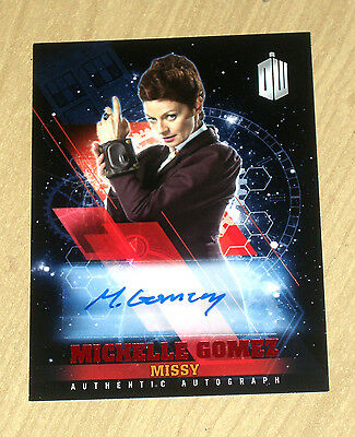 2016 Topps Doctor Who Timeless RED autograph card Michelle Gomez as MISSY 2/10