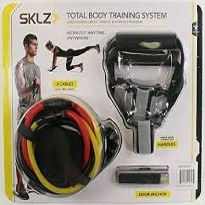 SKLZ Total Body Training System 3 Quick Change Cables Handles Door Anchor