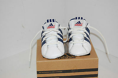 Adidas  High  Quality Leather kids Shoes Size UK 1 EUR 17