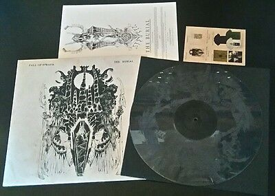 """FALL OF EFRAFA the burial LP 12"""" LIMITED BROWN etched tragedy ekkaia punk crust"""