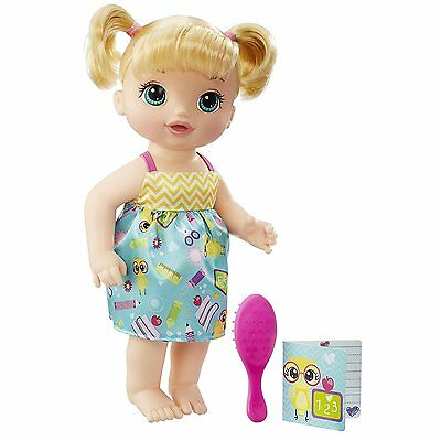 Baby Doll Baby Alive Ready For School Set Blonde Kids Toy Girl Brand New