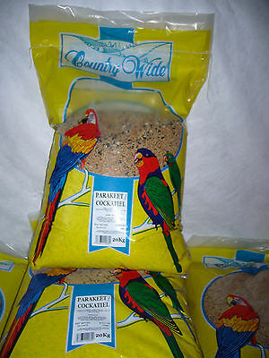 Countrywide Parakeet & Cockatiel Mix 20 kg aviary birds seed