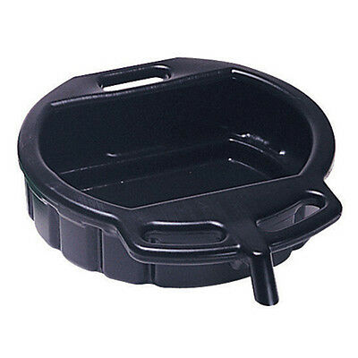 Lisle 17942 Oil Drain Pan 4-1/2 Gallon Capacity, Black Plastic