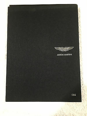 Aston Martin Dbs  Official Book Hardback Fully Illustrated Text Specifications