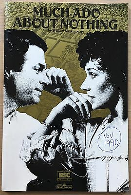 Roger Allam MUCH ADO ABOUT NOTHING 1990 RSC Programme Alex Kingston STRATFORD
