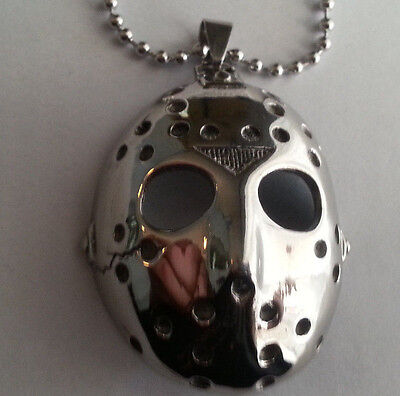 stainless steel Friday the 13th Jason Voorhees pendant necklace jewellery horror
