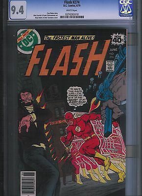 Flash # 274 CGC 9.4  White Pages. UnRestored.