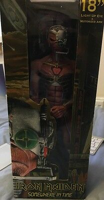 """Iron Maiden Somewhere In Time Neca Action Figure 18"""" Boxed"""