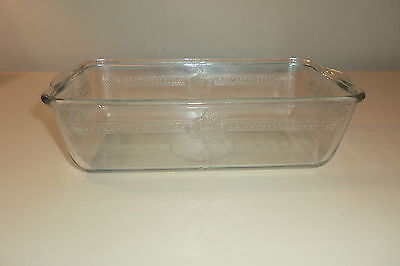 Vintage FIRE KING Sapphire Blue PHILBE BREAD PAN Loaf Baking Dish