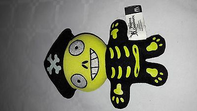 Rare Pirates Of The Caribbean Pirate Plush Soft Toy Teddy - Mcdonalds - App 6""