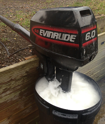 ENVIRUDE 6Hp outboard long shaft