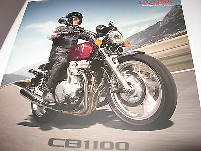 Honda CB1100 Motorcycle Sales Brochure 2013