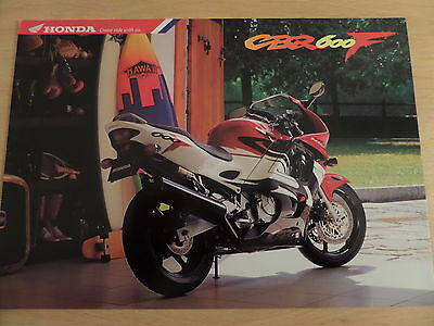 Honda CBR600F Motorcycle Sales Brochure - 1996