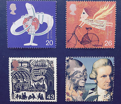 1999 GB Travellers Stamp set mint MNH at FACE VALUE!