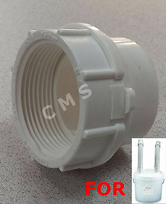 BUFFALO DENTAL Plaster Trap-Ez Adapter Ring Sewer Tail Hose Pipe Fitting BDM NEW