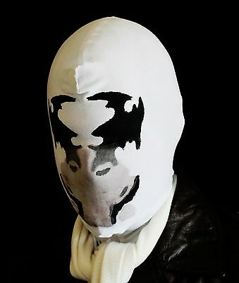 Rorschach Mask With Real Moving Ink Blots Temperature Sensitive see video