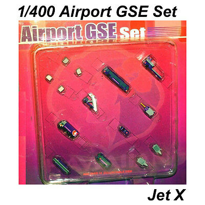 Jet-X / Dragon Wings Airport 14 Piece GSE Set JXA004 1/400 **Free S&H** Sealed