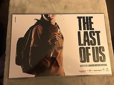 The Last Of Us Rare Movie Poster Limited To 7000
